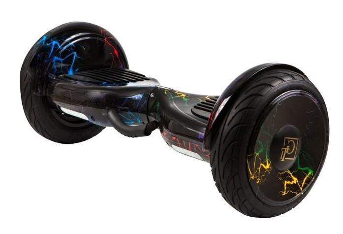 Гироскутер Smart GT 10.5 Aqua - Цветная молния