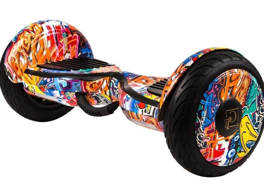 Гироскутер Smart GT 10.5 Aqua - Оранжевый граффити